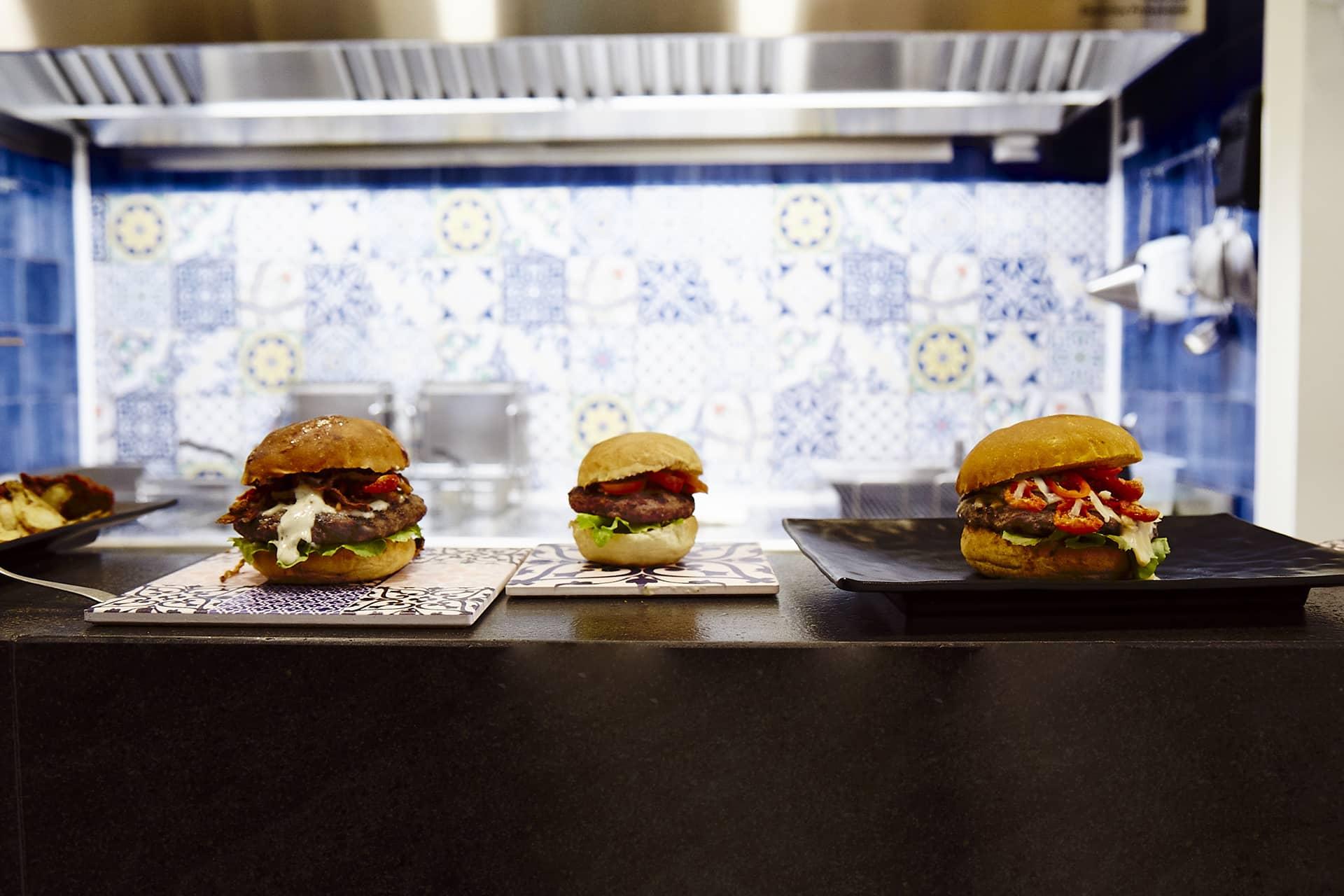 dalla vucciria + burger bimbi + abbrucia